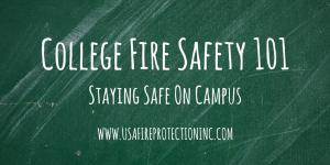 college fire safety