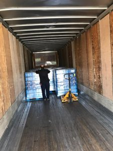 Loading the truck
