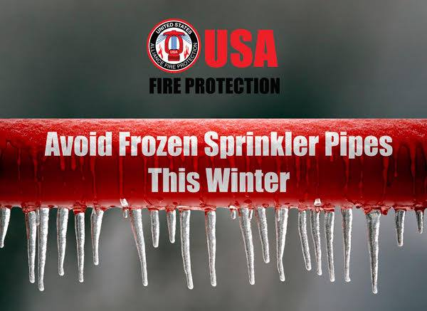 avoid frozen sprinkler pipes this winter